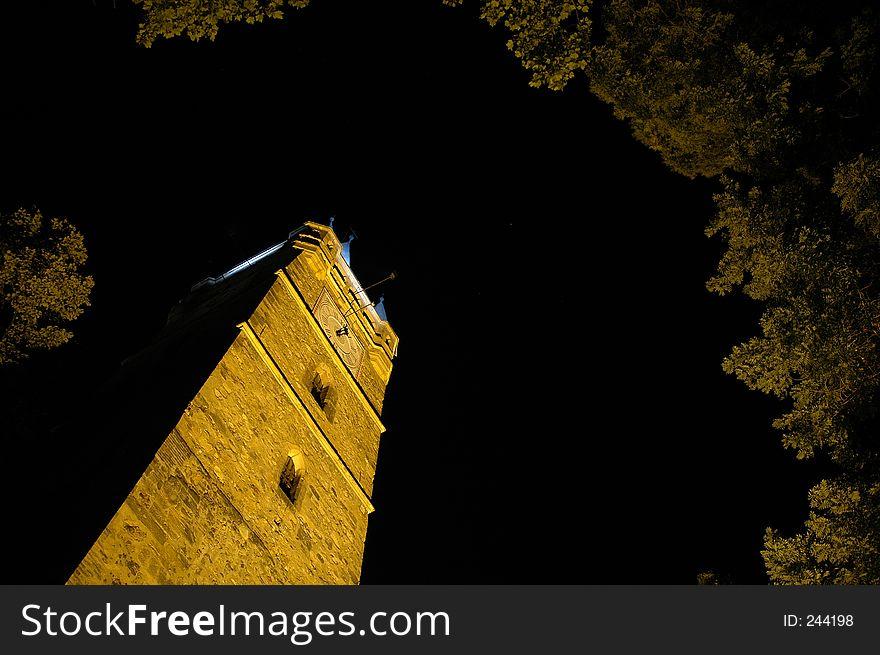 Historic Stefan Cel Mare Tower