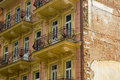 Free Old Building With Balconies. Stock Image - 2400541