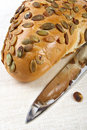 Free Pumpkin Bread With Seeds Stock Photography - 2401092