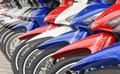 Free Moterbikes Royalty Free Stock Photography - 2401497