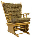 Free Oak Glide Rocking Chair Stock Photos - 2404203