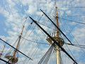 Free Ship Masts Royalty Free Stock Photography - 2405017