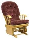 Free Oak Glide Rocking Chair Stock Photo - 2407620