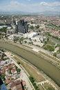 Free Aerophoto Of Skopje Macedonia Royalty Free Stock Image - 2407656
