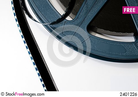 Free Film And Spool Royalty Free Stock Image - 2401226