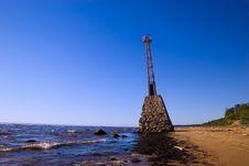 Free Old Abandoned Lighthouse Royalty Free Stock Photo - 2400315