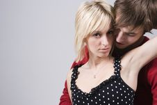Free Couple Hugging Passionately Stock Photography - 2401202
