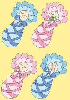 Free Baby Moods Royalty Free Stock Photos - 2401818