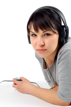 Free Enjoying Music 11 Royalty Free Stock Photography - 2401897