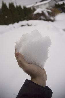 Free Handful Of Snow Stock Photos - 2402893