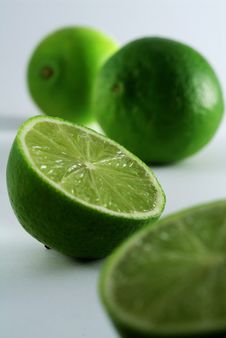 Free See Inside A Lime Stock Photo - 2405110