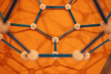 Free Chemical Bonding Structures Royalty Free Stock Photo - 2405995