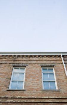 Free Brick Building Stock Image - 2406011