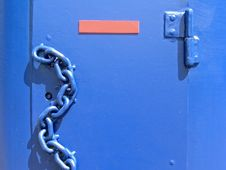Free Blue Chain Royalty Free Stock Photos - 2406058