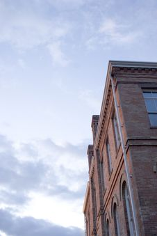 Brick Building Royalty Free Stock Images