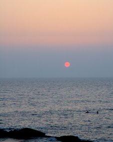 Free Surfer Sunset Stock Photo - 2406120