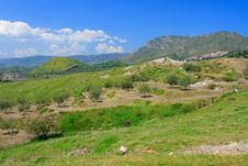Free Sicilian Countryside Royalty Free Stock Photos - 2406828
