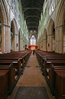Free Bridlington Priory UK Royalty Free Stock Photography - 2408417
