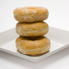 Free Glazed Donuts Royalty Free Stock Photography - 2409677