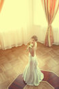 Free Beautiful Bride Indoors Royalty Free Stock Photography - 24008687
