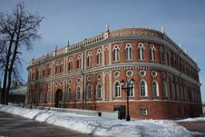 Free Moscow. Museum Tsaritsyno. Kitchen Corps Royalty Free Stock Photo - 24002605