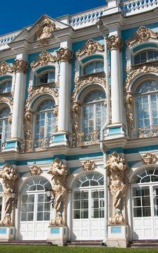 Free The Catherine Palace,  Tsarskoye Selo Stock Image - 24004211