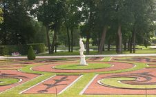 View Of Catherine Park , Tsarskoye Selo Stock Photography