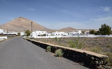 Free Lanzarote S City Landscape Royalty Free Stock Image - 24004576