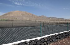Free Lanzarote S Agriculture Field Stock Photography - 24004662