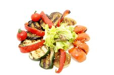 Free Grilled Vegetables Royalty Free Stock Image - 24005686