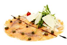 Free Fish Carpaccio Stock Photo - 24005690