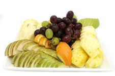 Free Fruit On A Plate Royalty Free Stock Photography - 24005697