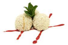 Free Balls Of Ice Cream Stock Photos - 24005703