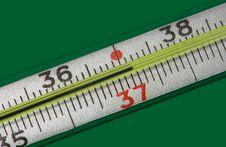 Medicine Thermometer Stock Photo