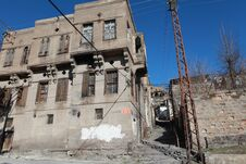 Free The Old House In Talas, Kayseri. Royalty Free Stock Image - 24006476