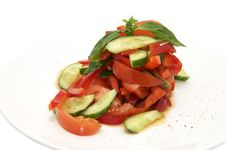 Free Vegetable Salad Stock Photo - 24008300