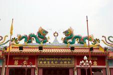 Free Shrine Satyr Sawan Thai Goddess. Stock Photography - 24008832