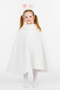 Free Little Girl - Bunny Royalty Free Stock Photography - 24010307