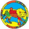 Free Leo Horoscope Sign Royalty Free Stock Images - 24010559