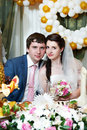 Free Happy Bride And Groom In Wedding Banquet Royalty Free Stock Photo - 24019645