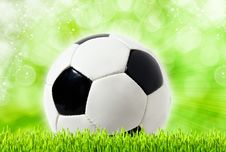 Free Football Abstract Backgrounds Stock Image - 24013021