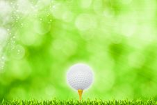 Abstract Golf Sport Art Backgrounds Stock Photos