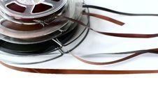 Free Three Reels Of Audio Tape Stock Photo - 24014360