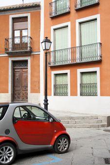 Free Balconies  In Avila Stock Photo - 24015390