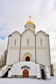 Free Orthodox Cathedral Stock Photography - 24016132