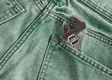 Free Labor Jean Pocket Stock Photos - 24017543