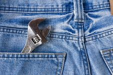 Free Labor Jean Pocket Stock Images - 24017754