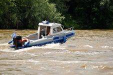 Free Water Police Motorboat Stock Photos - 24020463