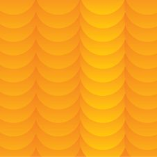 Free Abstract Vector Orange Wave Background Stock Images - 24023494