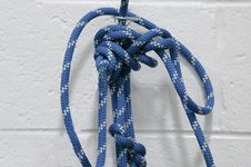 Free Rope With Knots Stock Photos - 24028183